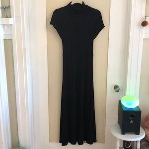 Classy sparkly black dress